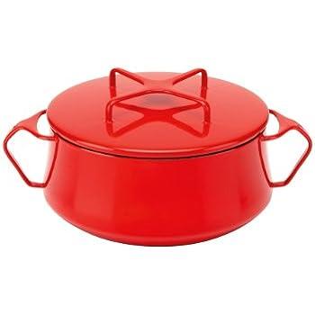 Amazon.com: Dansk Kobenstyle Chili Rojo Olla, 2-Quart ...