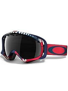 white oakley ski goggles atru  Oakley Crowbar Kazu Mega Shark Ski Goggles
