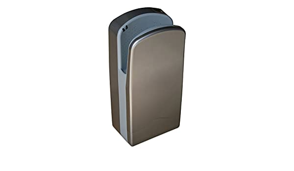 Nofer 01303.s V-Jet secador de Manos Aluminio Plata 27 x 37 x 72 cm: Amazon.es: Hogar