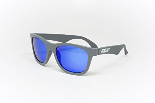 Aces fueled by Babiators Galactic Lenses - Aces Navigator, Gray, - Sunglasses Amped