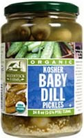 Woodstock Farms Organic Baby Kosher Dill Pickles ( 6x24 OZ)