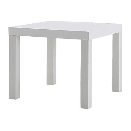 Tavolino Ikea Bianco.Ikea Lack Tavolino Basso Da Divano 55 X 55 Cm Colore Nero Classico 55x55cm Bianco