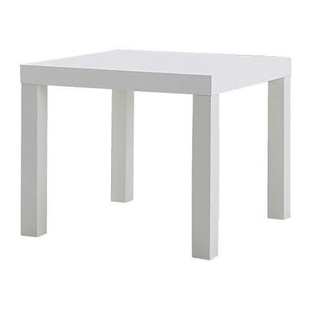 ikea lack - tavolino basso da divano, 55 x 55 cm, colore: nero ... - Soggiorno Bianco E Nero Ikea 2
