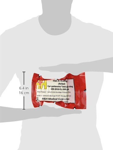 H & H Associates Multi-Use Hemostat and Compression Trauma Bandage