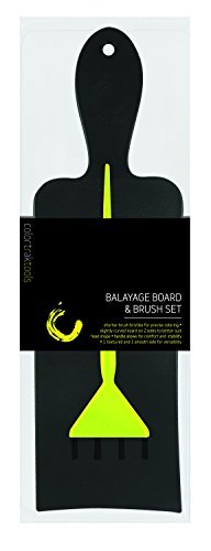 ColorTrak Balayage Board and Brush Set, 7 Ounce by Colortrak