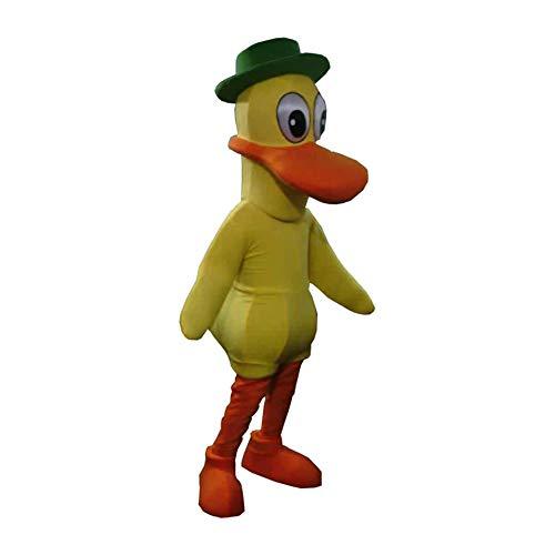 Pato of Pocoyo Yellow Duck Mascot Costume Character Cosplay Party Birthday -
