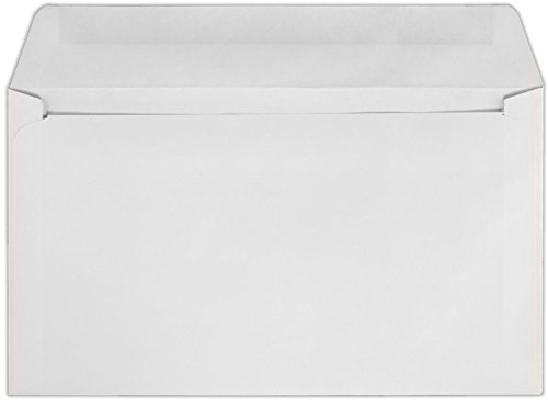 6 x 10 1/2 Machine Insertable Booklets - 24lb. White, Machine (250 Qty.)   Perfect for Catalogs, Annual Reports, Brochures, Magazines, Invitations   24lb. Text Paper   610MIB-W-250 Envelopes.com