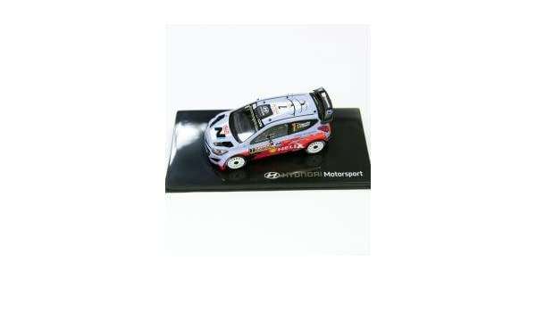 Hyundai Motor Sport Rallye modèle 1 : 43 neuf Ville N ° 7: Amazon.es: Coche y moto