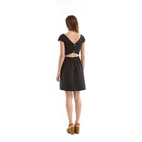 Zergatik Vestido Mujer NERINE Black