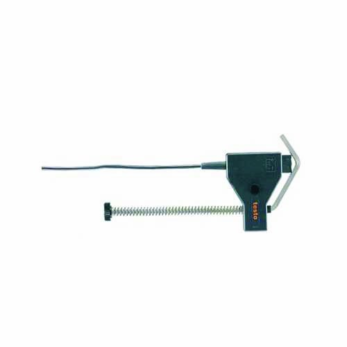 Testo 0609 5605 Pipe Wrap Probe with 10' Fixed Cable, -50 to +120 Degree C Range, Class B for Pipe 5 to 65mm Diameter by Testo