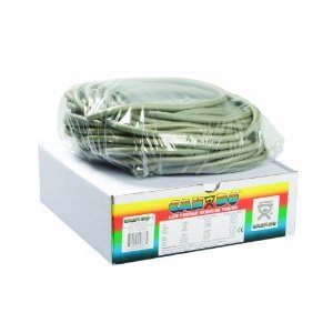 FEI 10-5526 Can-Do Low Powder Exercise Tubing, XX-Heavy, 100' Length, Silver