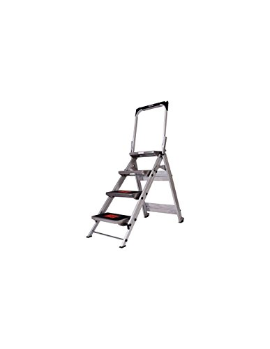 Little Giant Type 1A Safety Step Step Stool - 3 Steps, 300-Lb. Capacity, Model# 3-STEP (Safety Giant Little Step)