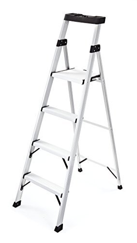 Rubbermaid RMA-5XS Aluminum Ladder with Project Top, 5.5' by Rubbermaid