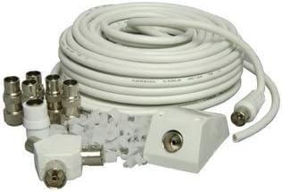 Mercury - Conjunto de instalación de cable coaxial de antena ...