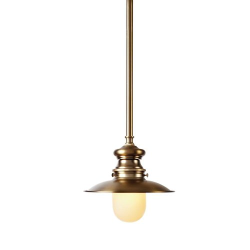 1 Light Brushed Bronze Lantern 5.7