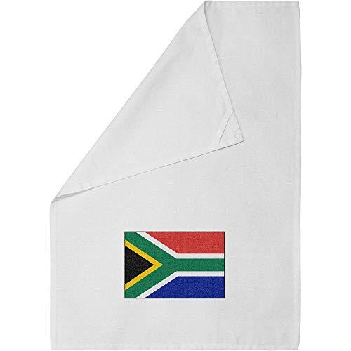 'South Africa Flag' Cotton Tea Towel / Dish Cloth (TW00011197)