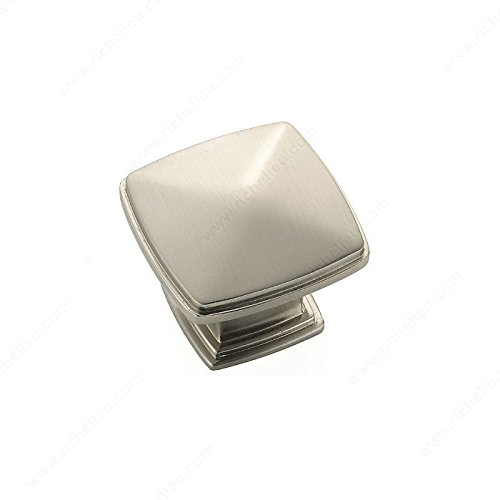 Transitional Metal Knob - 810, Finish Brushed Nickel PRO-PACK (810 Pro Cabinet)