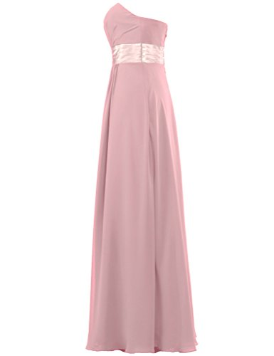 Dresses Women's Long Strapless Chiffon Blush Bridesmaid Prom ANTS Gown PIxvwOw