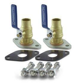 Grundfos 96806135 3/4-Inch Low Lead Isolation Valve Kit, Sweat by Grundfos -  3945840