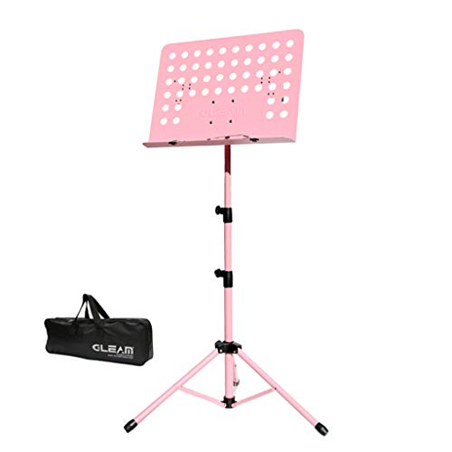 (Music Stand Mesurn Lifting, Foldable Portable Universal Stand, with Metal Beading, Universal Padded for All Kinds of Instruments)