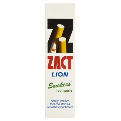 Zact Lion Smokers' Toothpaste Cleaning Mouth Clean Breathing