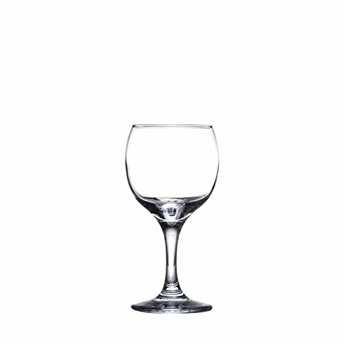 BISTRO 12-piece Wine Glasses Set (in 3 size), White, Red and Liquor Wine, Restaurant&Bar Quality, Durable Tempered Glass, Heavy Base, t.m. Pasabache (7 1/2 oz) by Pasabache (Image #5)'