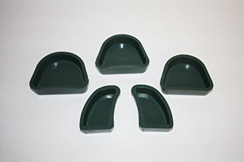 - Chase Dental Supply 511 Professional Dental Silicone Model Base Formers Green Set of 5 (Includes: 1 Medium Full Arch, 1 Large Full Arch, 1 Small Full Arch, 1 Right Quadrant, 1 Left Quadrant)