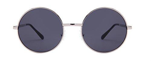Laura Fairy Women's/ladies' Vintage Style Round Thin Frame Uv400 Sunglasses - Hut Sunglas