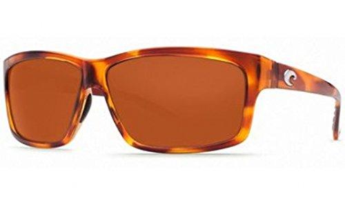 Costa Del Mar Cut Sunglasses, Honey Tortoise, Copper 580P Lens by Costa Del Mar