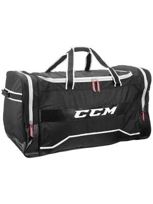 "CCM 350 Deluxe Player Hockey Bag, Black (37"" L x 19"" H x 16.5"" W)"