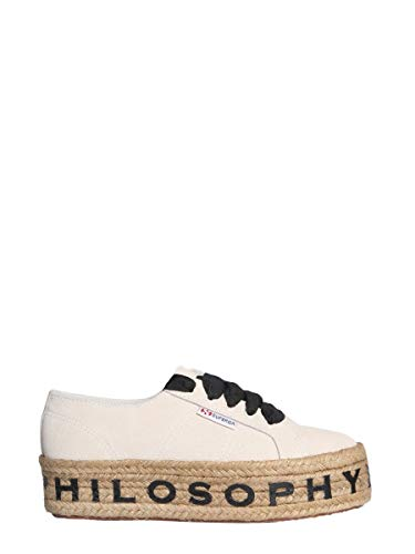 Sneakers A320207720004 Pelle Beige Philosophy Donna jc3Lq4A5R