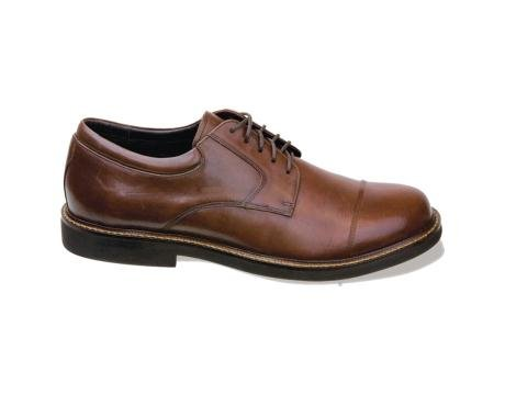 Apex Men's LT610 Cap Toe Oxford,Brown,10.5 M US (Apex Mens Shoes)
