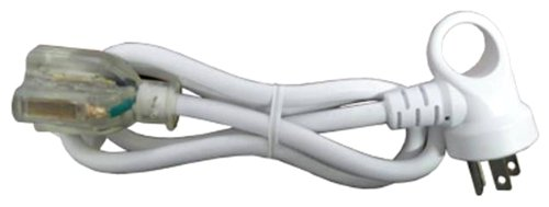 Conntek 24161-036 I-Ring Extension Cord 3-Foot 16/3 White U.S. I-Ring Male Plug