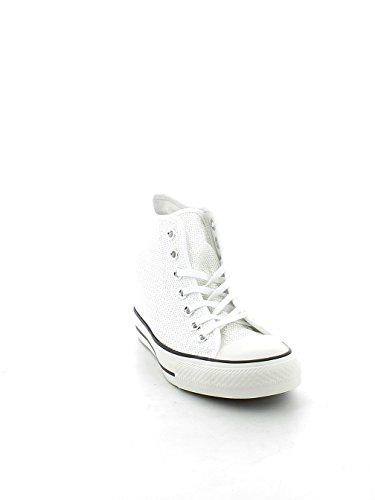 CONVERSE 556783C CT AS MID LUX SEQUINS SNEAKERS Femme Bianco