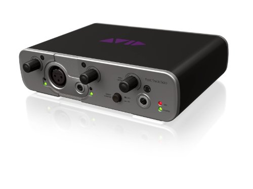 Avid Fast Track Solo with Pro Tools Express -Channel Audio Interface (Mbox Mixer)