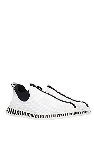 On Slip Pvc Miu Sneakers Donna 5s901b3kfmf0009 Bianco qX5dOwd