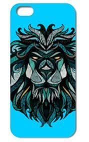 Fashion The Lion Pattern Protective Hard Case Cover For iPhone 5 5S #042