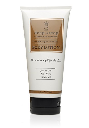 Deep Steep Body Lotion, Brown Sugar Vanilla, 8 Ounce