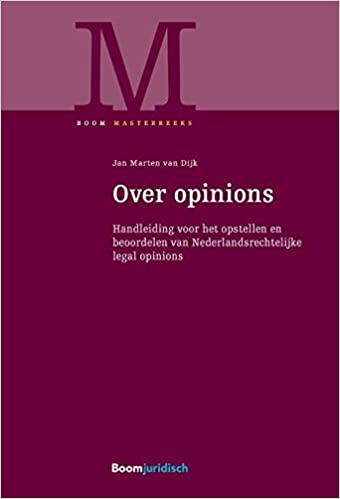 Over opinions: handleiding voor het opstellen en beoordelen ...