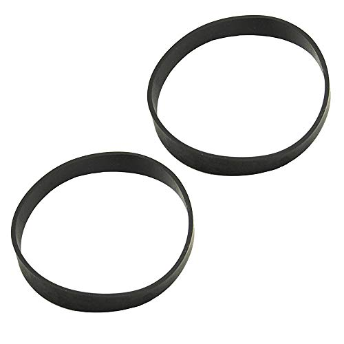 HASMX 2-Pack Replacement Vacuum Cleaner Belts for Black & Decker Air Swivel Vacuum Cleaner BDASV101, BDASV104, BDASL102 & Ultra, BDASL104, BDASL202, BDASV103, BDASL20 / BDAS120 Ultra Light, BDASP103 (Black And Decker Air Swivel Replacement Belt)