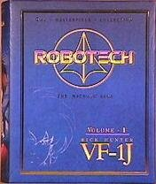 Robotech Rick Hunter Masterpeice Collection 1:55 Scale VF-1J Valkyrie Die-Cast Action Figure (2003 (Macross Rick Hunter)