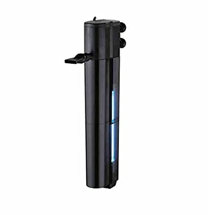 Takestop® Filtro Interno UV 15010 F 15 W 1000L/H ajuste oxígeno Esponja microorganismi