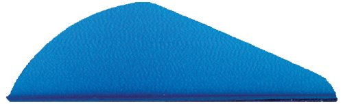 Bohning Mini Blazer Archery Vane (100-Pack), Satin Blue by Bohning (Image #1)