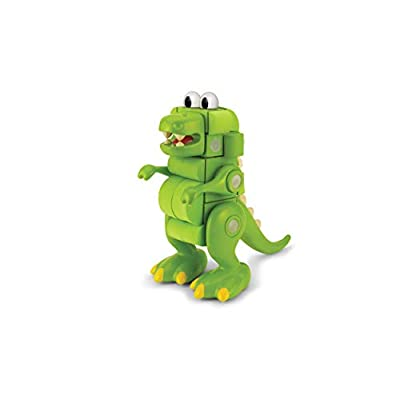 Velcro Kids, Velcro Brand Blocks | STEM Toy | Dinosaur Building Blocks, Lightweight Foam | 31Piece, T-Rex, Age 3+ [Packaging May Vary]: Arts, Crafts & Sewing