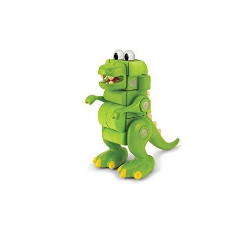 Velcro Kids, Velcro Brand Blocks | STEM Toy | Dinosaur Building Blocks, Lightweight Foam | 31Piece, T-Rex, Age 3+ [Packaging May -