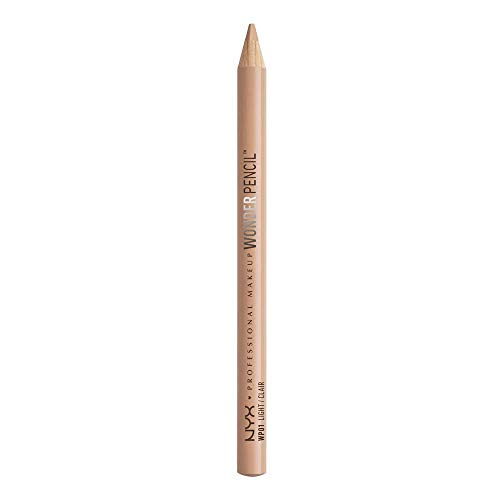 NYX PROFESSIONAL MAKEUP Wonder Pencil, Light, 0.03 Ounce (Best Eyeliner For Inner Rim Of The Eye)