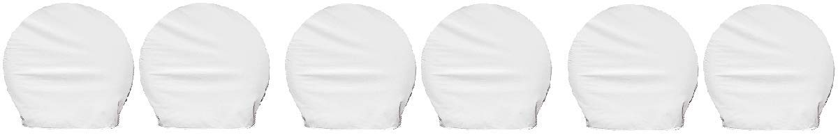 Adco 3950 Polar White Single Axle Ultra Tyre Gard Tire Wheel Cover 36-39' set of 2