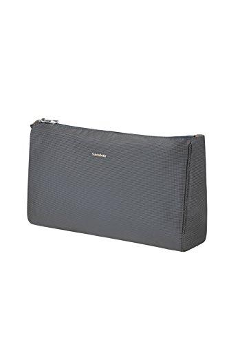 (SAMSONITE Cosmix - Cosmetic Pouch L Toiletry Bag, 33 cm, Black (Black Iris))