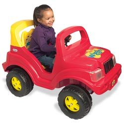 Little tikes the wiggles big red car toys for Little tikes motorized vehicles