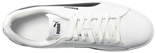 White puma Tennis Smash V2 Puma Black Homme wXa1I6x